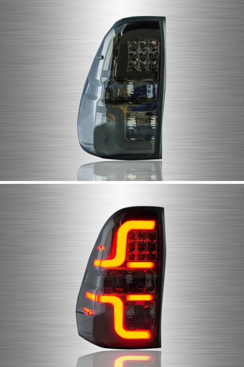 Toyota Hilux Revo '15-17 Smoke Light Bar LED Tail Lamp