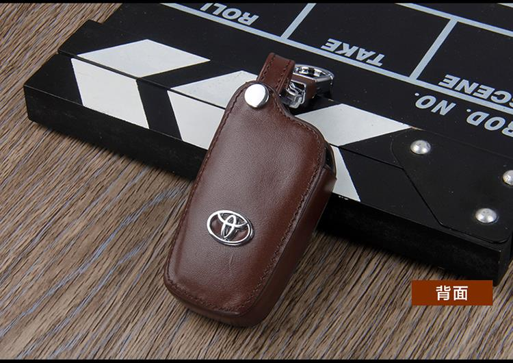 Toyota Hilux Revo / New Innova Keyless Remote Smart Key Leather Cover
