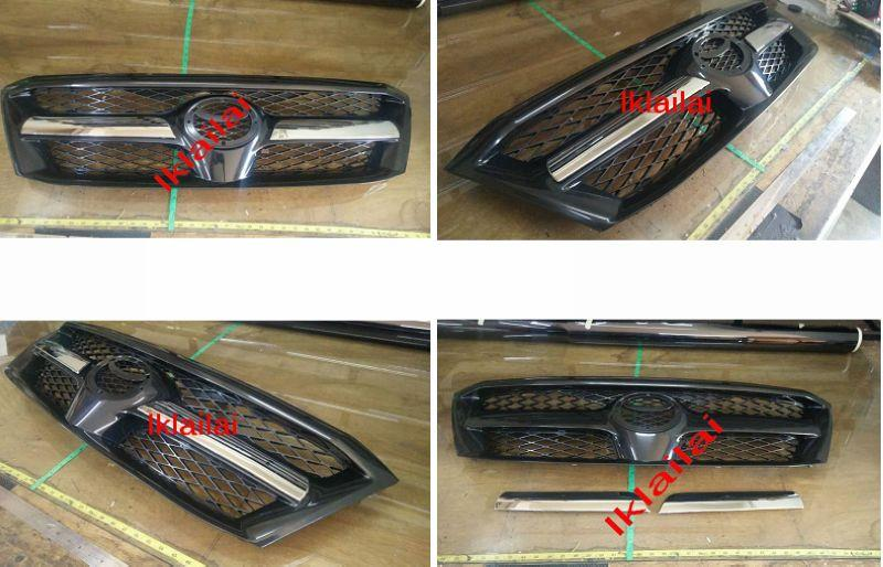Toyota Hilux Vigo '04-06 KUN25 Front Grille with Chrome Moulding