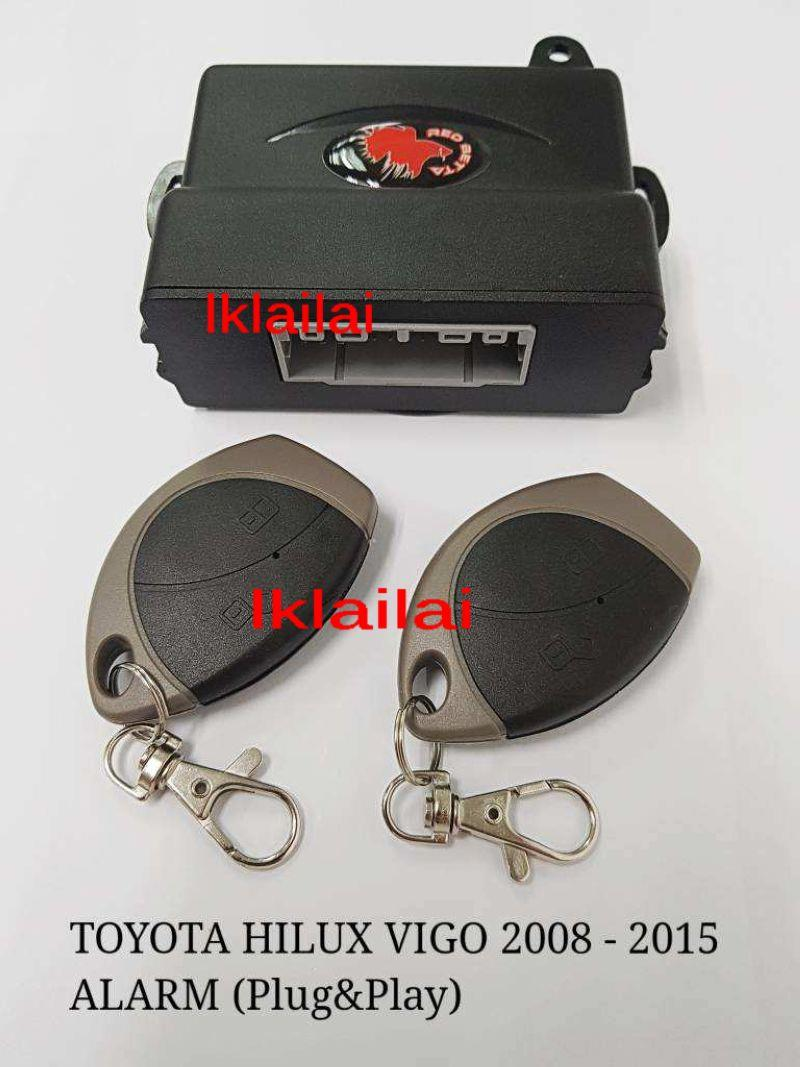 Toyota Hilux Vigo '08-15 Plug n Play Car Security Alarm