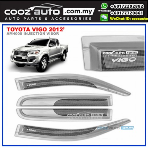Toyota Hilux Vigo 2006-2015 Anti UV Acrylic Injection Door Visor (SIlver)  sc 1 st  Lelong.my & Toyota Hilux Vigo 2006-2015 Anti UV (end 10/2/2019 12:37 AM)