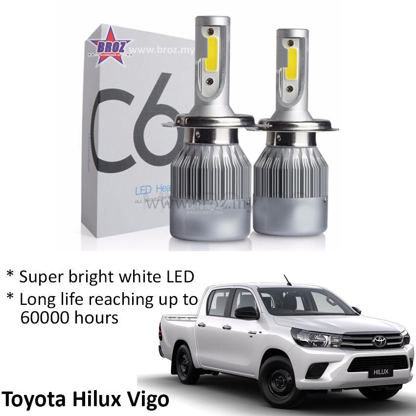 Toyota Hilux Vigo Head Lamp C6 LED end 8182018 515 PM