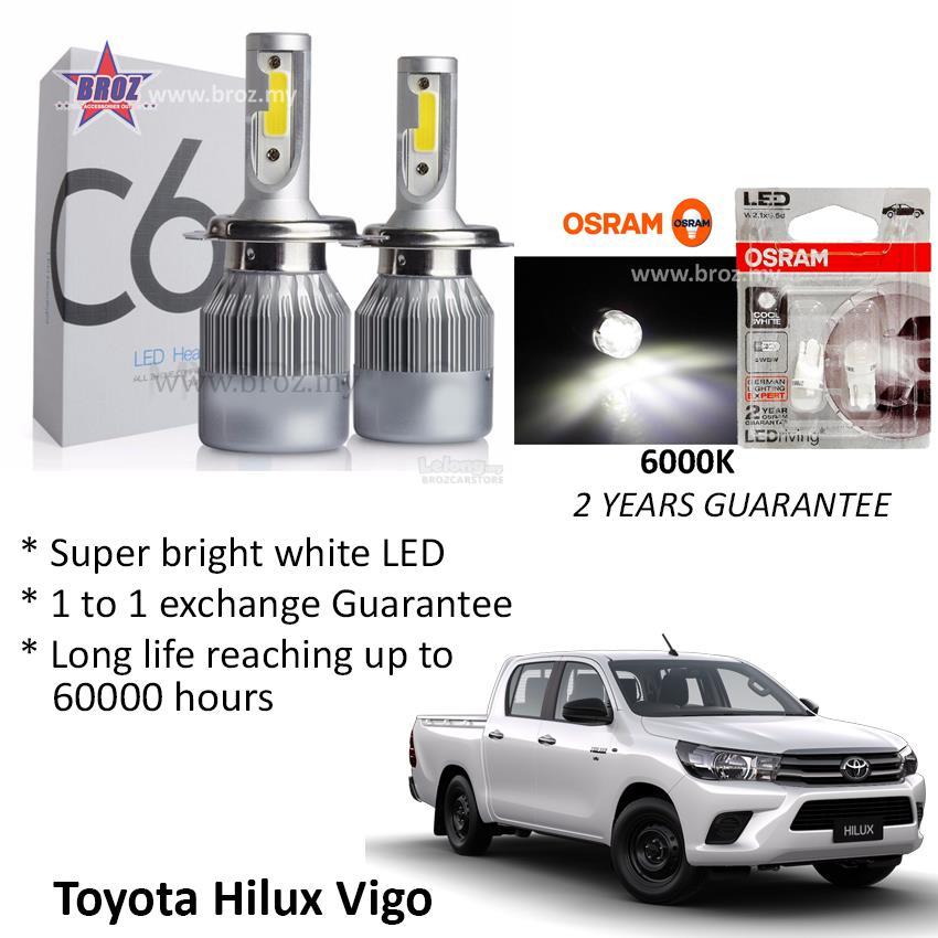 Toyota Hilux Vigo Head Lamp C6 LE end 8202018 1115 AM