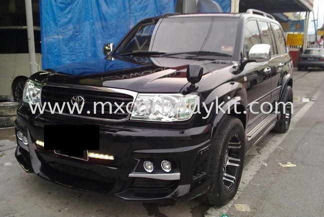 TOYOTA LAND CRUISER 2001 FJ100 BLACK BISON FULL SET BODYKIT