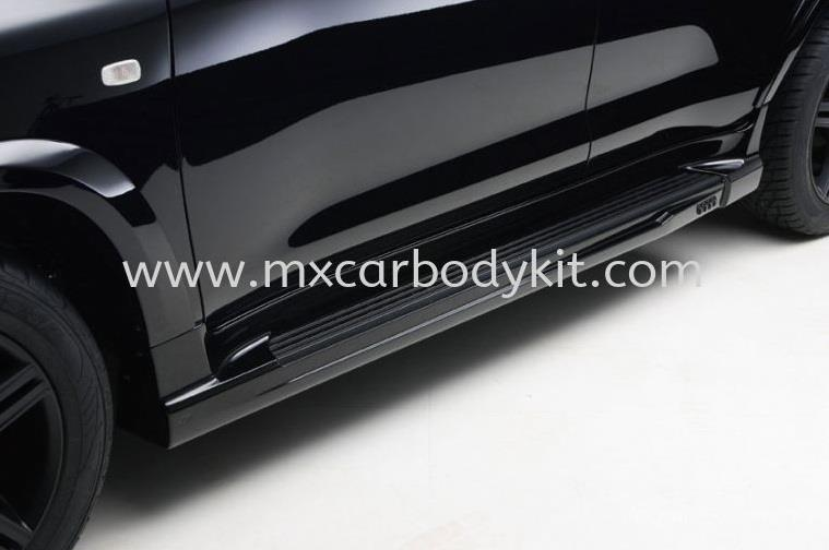 TOYOTA LAND CRUISER FJ200 BLACK BISON DESIGN SIDE SKIRT
