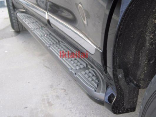 Toyota Landcruiser `08 FJ200 Door Step Board PP + Aluminum TY58-DS02-U