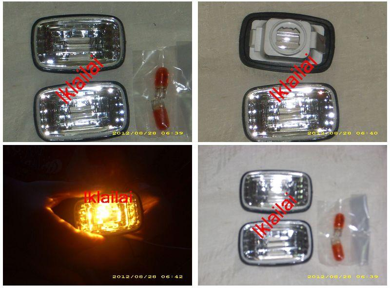Toyota Landcruiser FJ100 `98-`06 Side Lamp Crystal [TY56-SL01-U]
