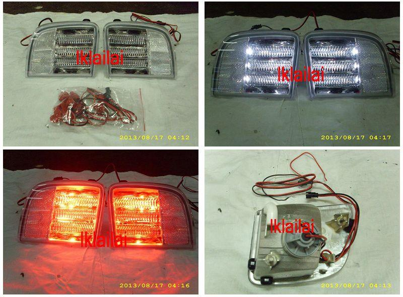 Toyota Landcruiser FJ200 '08 Rear Bumper Reflector Lamp [2-Function]