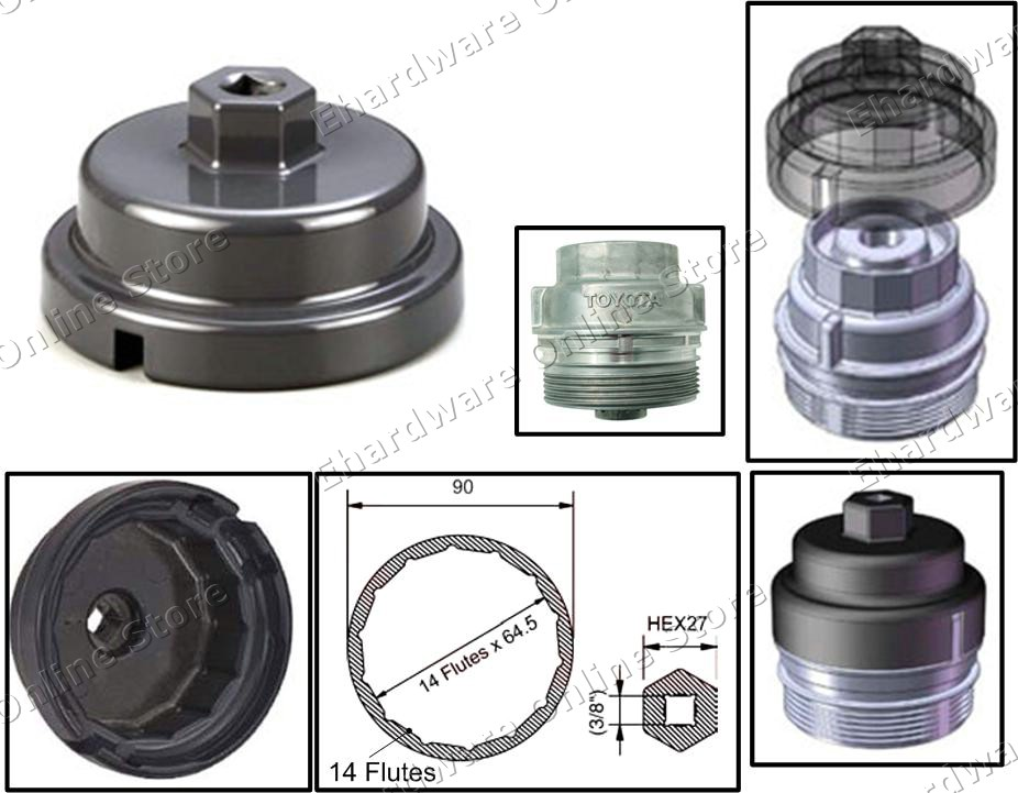 2014 toyota corolla oil filter wrench autozone