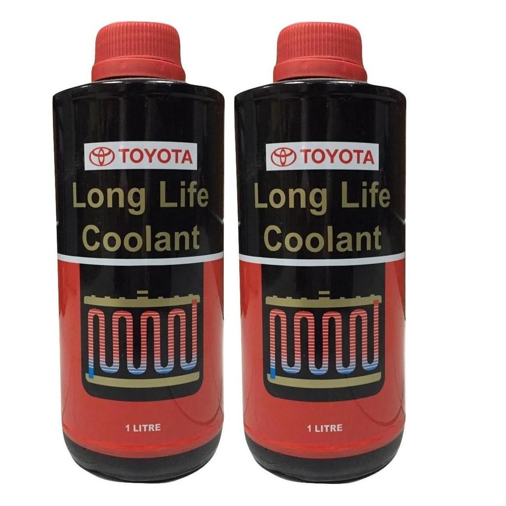 Toyota Super Long Life Coolant >> Toyota Long Life Coolant 1 Litre X 2 Bottles