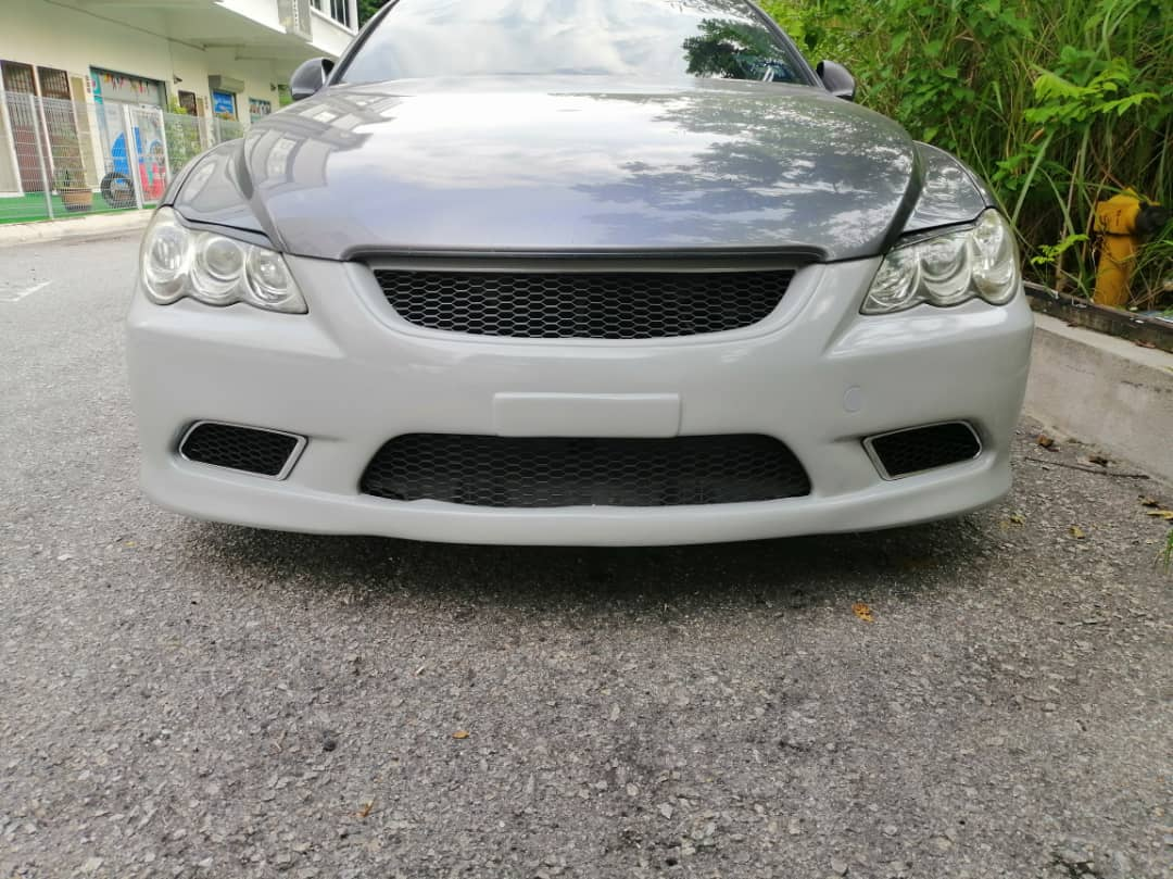 Toyota Mark X Vertiga ( Bumper, Body Kit, Bodykit, Skirt, Skirting )