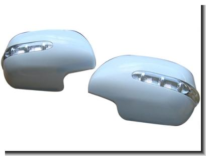 Toyota Prado FJ120 `03 Door Mirror Cover W/Light Painted (Taiwan)[TY57