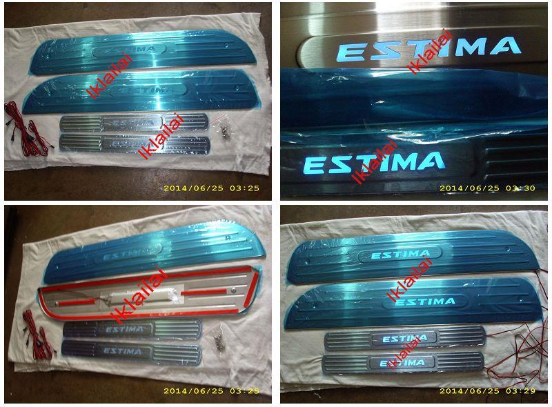 Toyota Previa / Estima '02-07 ACR50 Side Door Sill Plate LED 4pcs/set