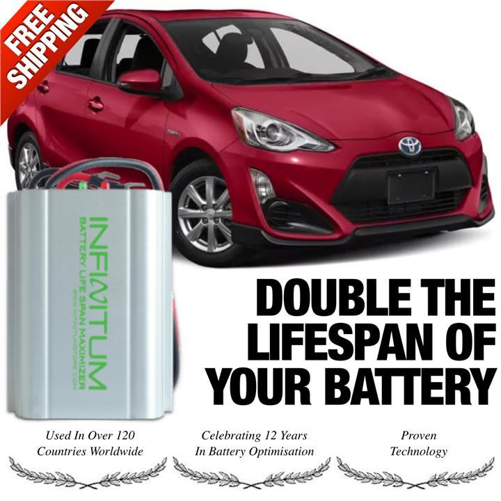 Toyota Prius C Hybrid 12v Starter Battery Lifespan Optimiser