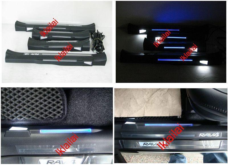 Captivating Toyota RAV4 U002713 Inner Door Sill Pedal / Door Riding / Thershold Pedal
