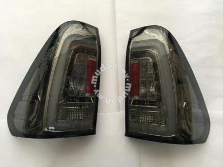 Toyota Revo 15-16 Led Tail Lamp Light Bar Smoke & Red Color
