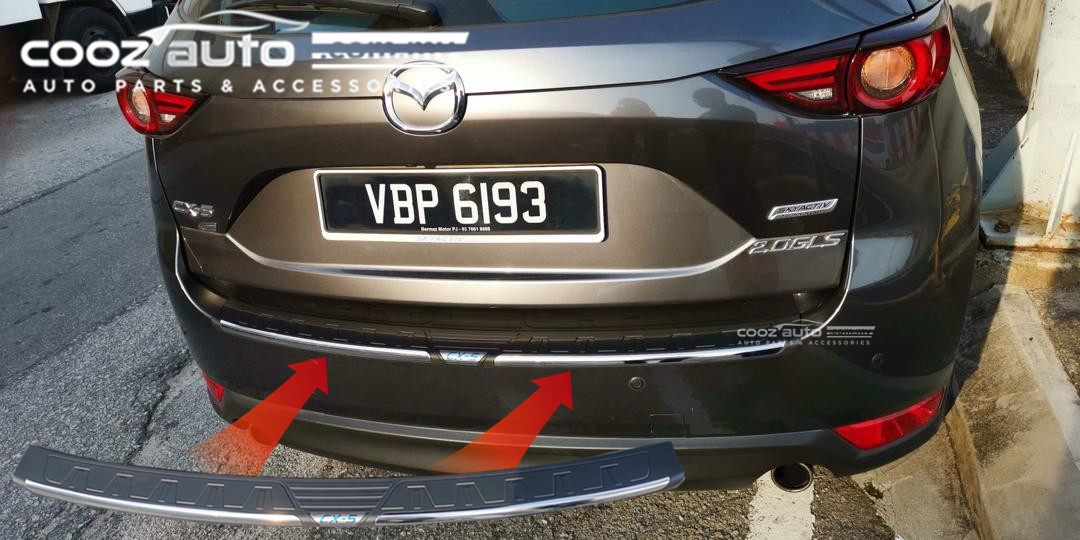 Bumper Guard For Suv >> Toyota Rush 2018 2019 Abs Rear Bumper Guard Protector Without Logo