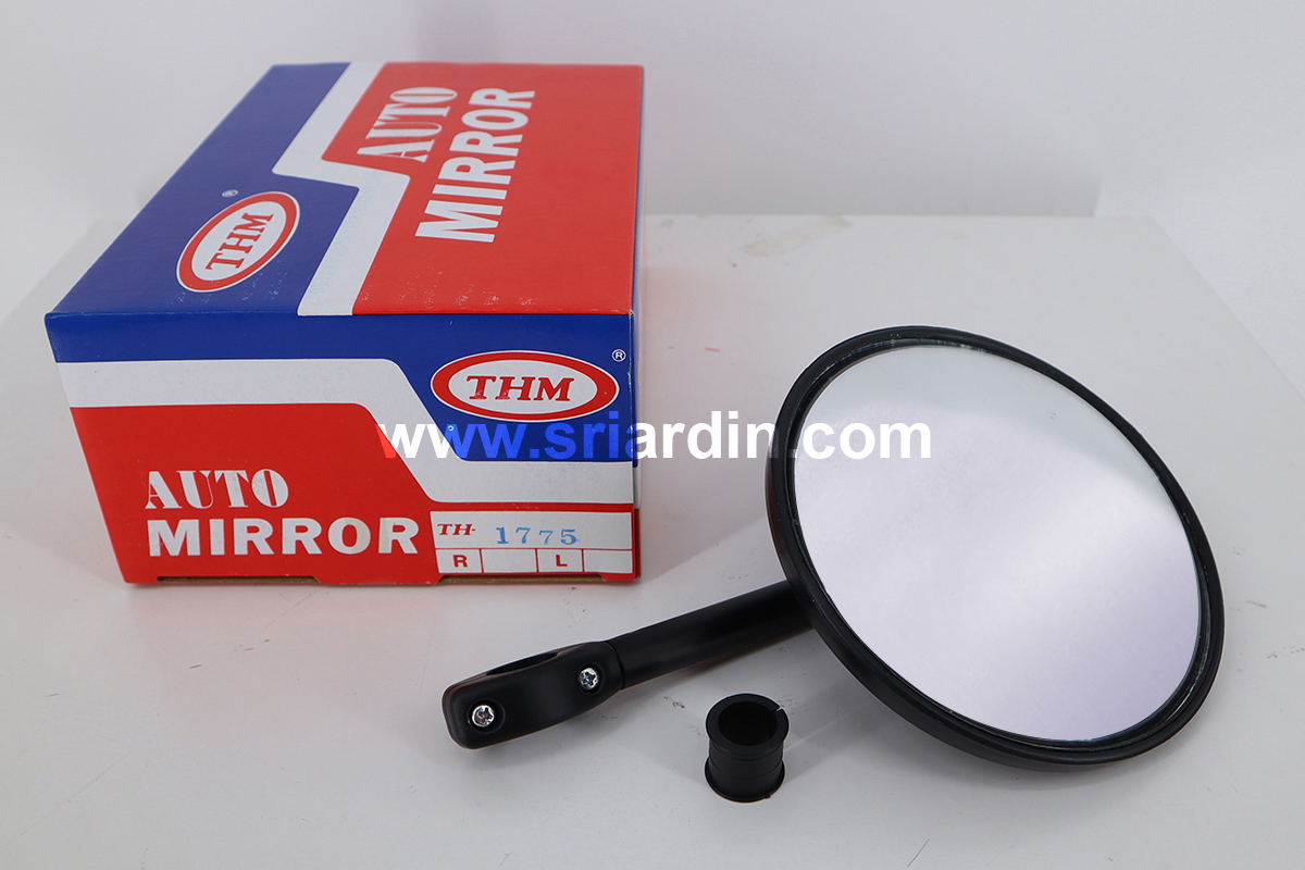 Toyota & Universal Truck / Bus Angle Mirror with Glass | Size : 146mm