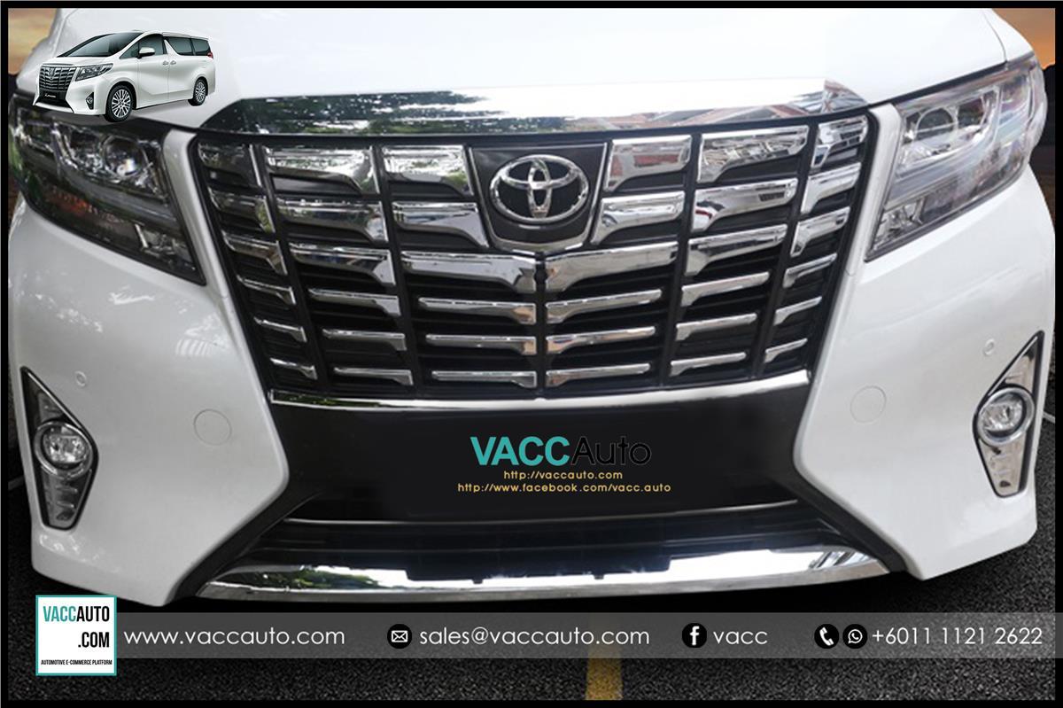 Toyota Vellfire Alphard Ah30 Fo End 12 8 2018 1222 Am Fog Lamp Grand Livina 2012 Complete Chrome Cover