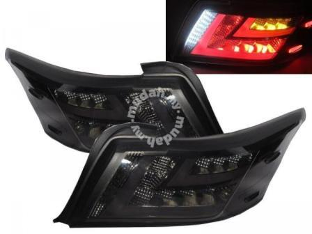 Toyota Vios 13-18 Led Tail Lamp Smoke Taiwan