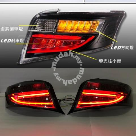 Toyota Vios 14-18 LED Tail Lamp Light Bar Smoke TAiwan