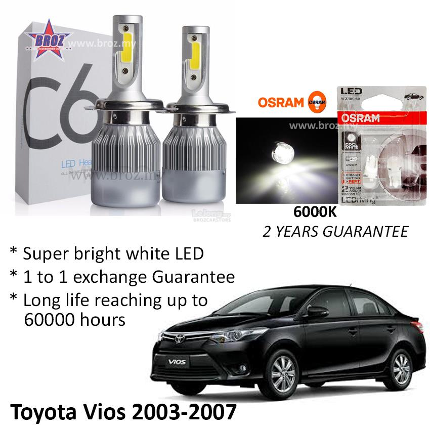 TOYOTA VIOS 13 - 15 Eagle Eye Projector Head Lamp - Car Accessories & Parts  for sale in Cheras, Selangor