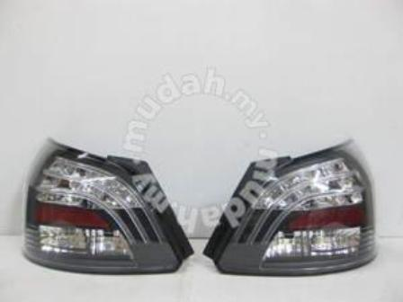 Toyota Vios 2012 Led Tail Lamp Black Taiwan