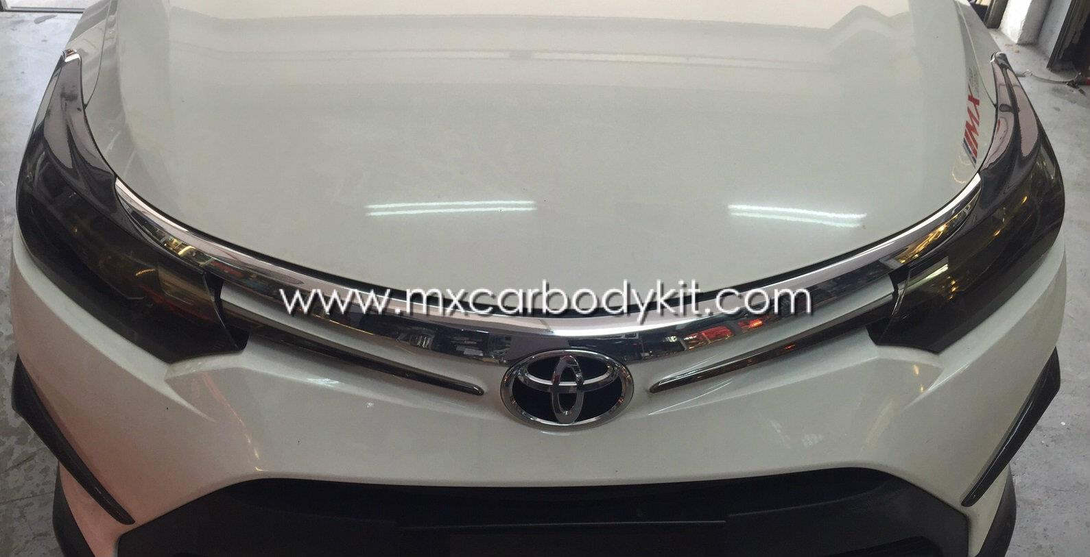 TOYOTA VIOS 2013 CARBON FIBER EYE LIDS (2PCS/ SET)