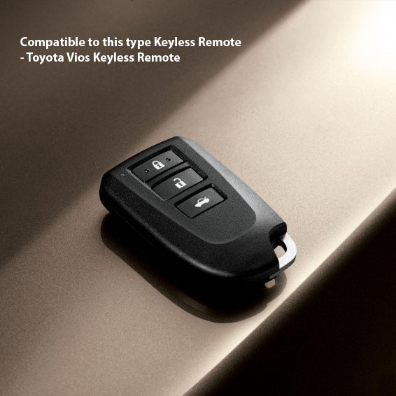 Toyota Vios 2014-2018 Keyless Remote Smart Key Silicone Cover