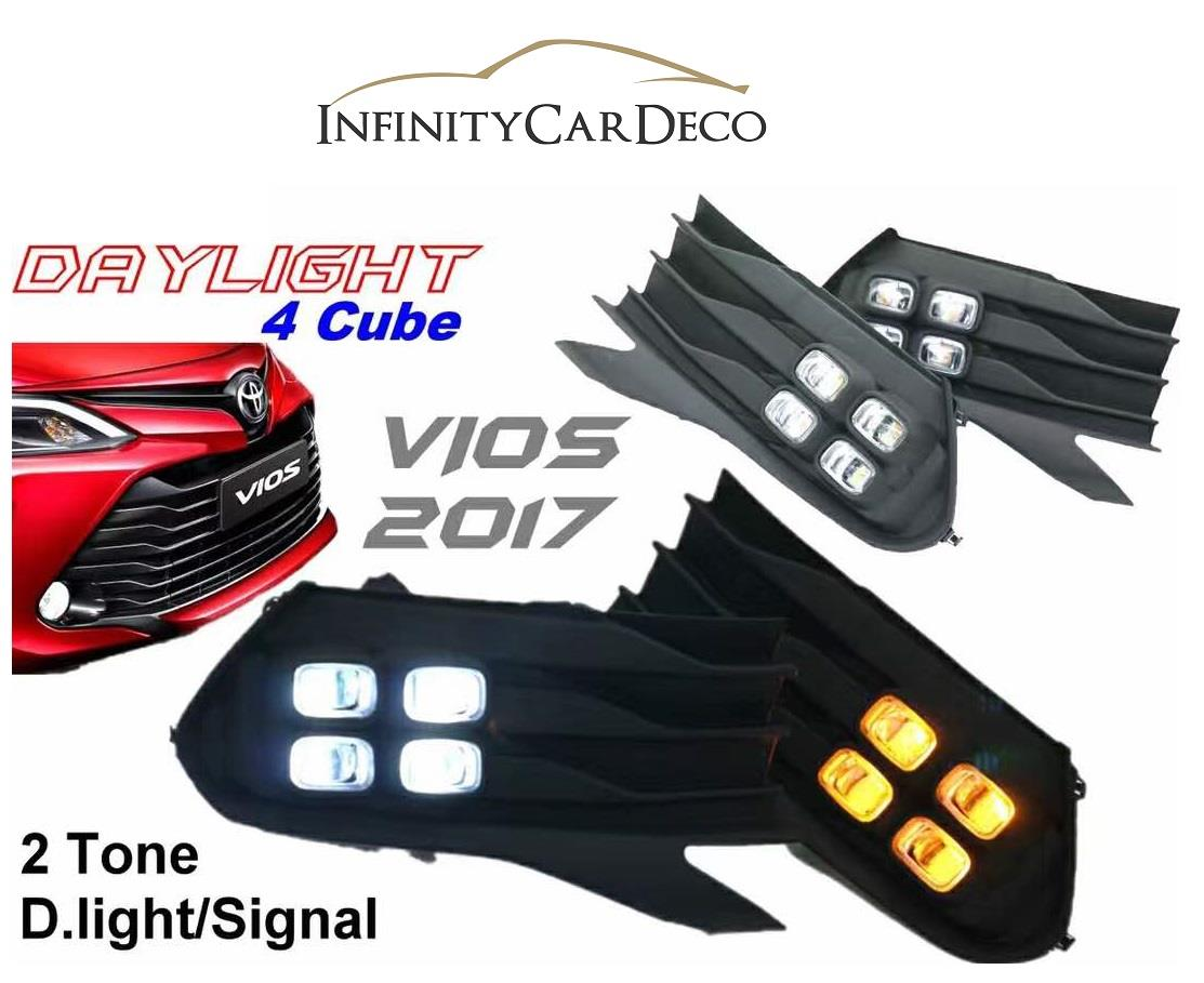 Toyota Vios Fog Lamp Price Harga In Malaysia Avanza 2004 Complete 2017 Daylight Daytime Drl Signal Cover