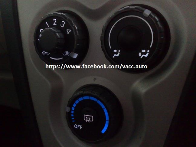 Toyota Vios (2nd Gen) Aircond or Gear LED Bulb
