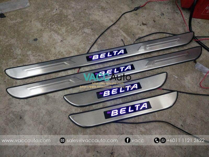 Toyota Vios (2nd Gen) Belta LED Door Step