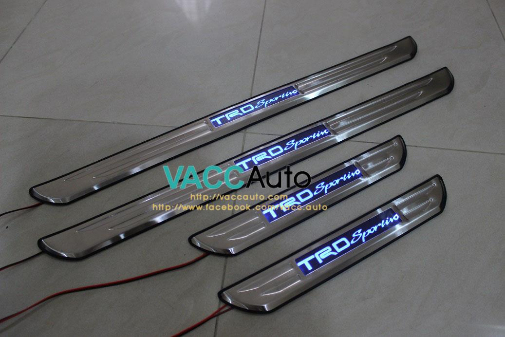 Toyota Vios (2nd Gen) TRD Sportivo LED Door Step
