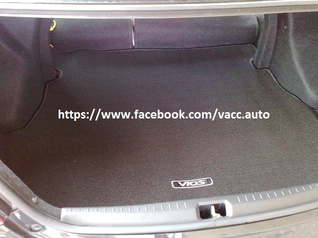 Toyota Vios (2nd Gen) Trunk Mat / Boot Tray