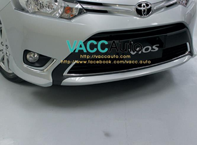 Toyota Vios (3rd Gen) Lower Front Bumper Chrome Garnish