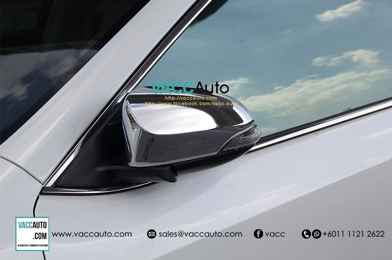 Toyota Vios (3rd Gen) Side Mirror Chrome Cover
