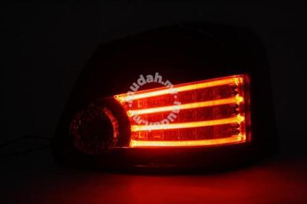 Toyota Vios Led Tail Lamp LIght Bar Smoke