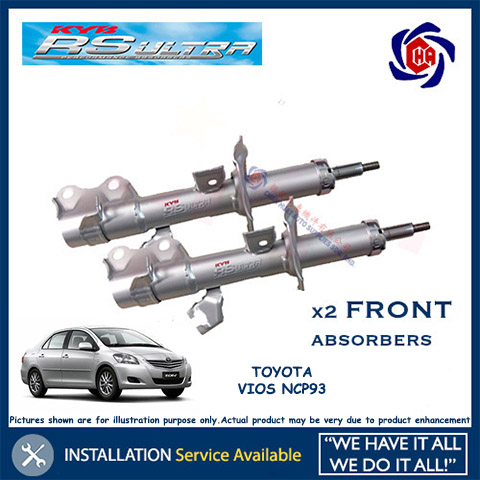 Toyota Vios NCP93 Front Shock Absorber KYB RS Ultra (Heavy Duty)