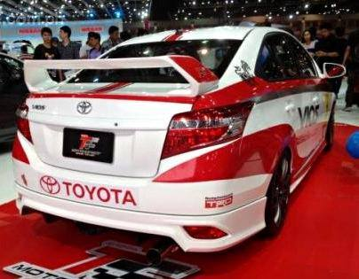 Toyota Vios TRD 2013 TR-D Bodykit Skirting With Oem Paint