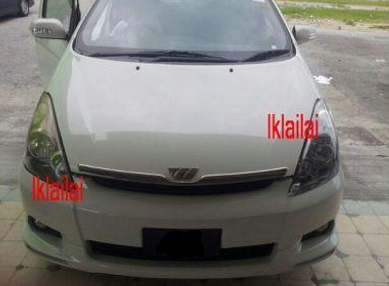 Toyota Wish '03-06 OEM Front Bumper [No Paint]
