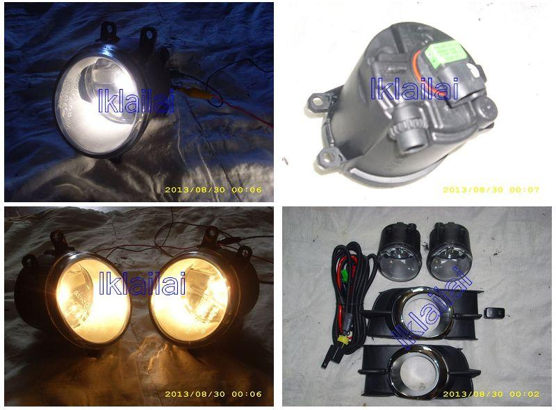 Toyota Wish '09-13 G / S Spec Fog Lamp Set With Cover & Wiring&Switch