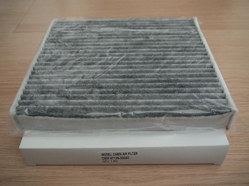 Toyota Wish 2009-2016 Activated Carbon Charcoal Cabin Air Filter