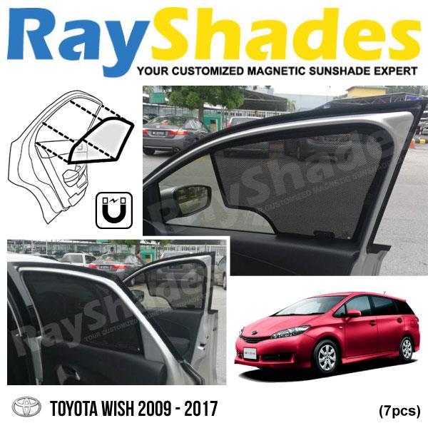 Sunshades For Cars >> TOYOTA WISH 2009 - 2017 RayShades U (end 1/16/2019 10:30 AM)