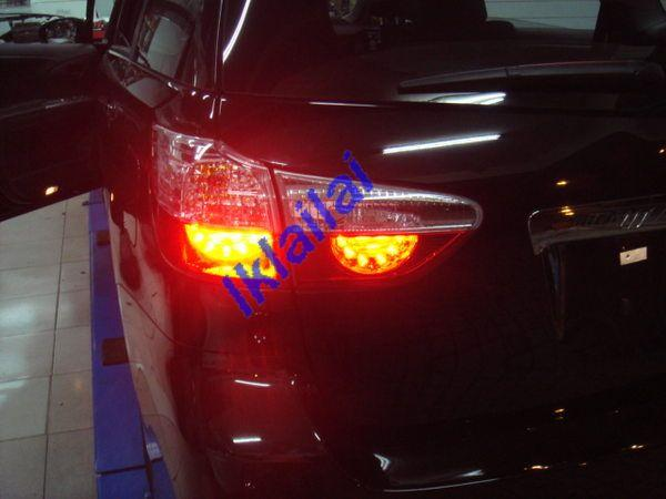TOYOTA WISH NETZ '10 Crystal LED Tail Lamp