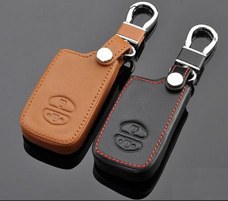 Toyota Wish or Prius Smart Remote Key LEATHER Cover (For Push Start)