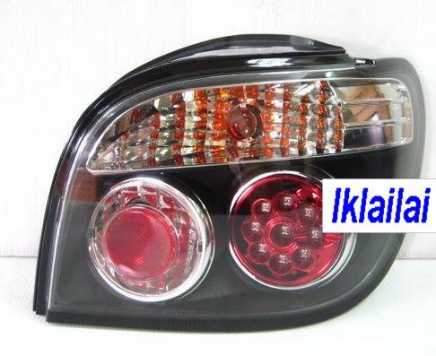 Toyota YARIS '98-'04 Crystal LED Tail Lamp Black Base