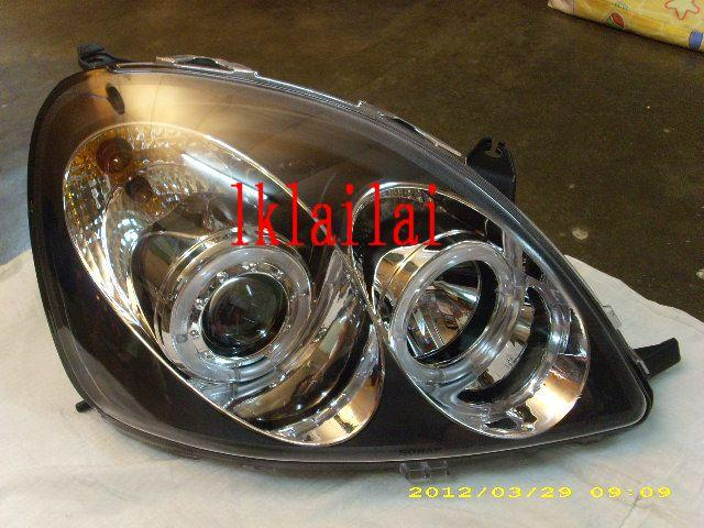 Toyota Yaris `99-04 Head Lamp Projector W/ Rim [TY72-HL01-U]