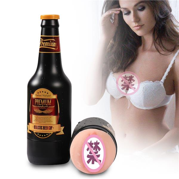 Toys Realistic Beer Cup Aircraft Cup (Fleshlight) Man Sex Play