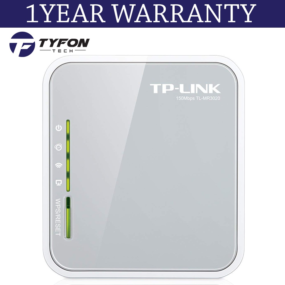 TP-LINK 150MBPS Portable 3G/4G Wireless N Broadband Router (TL-MR3020)