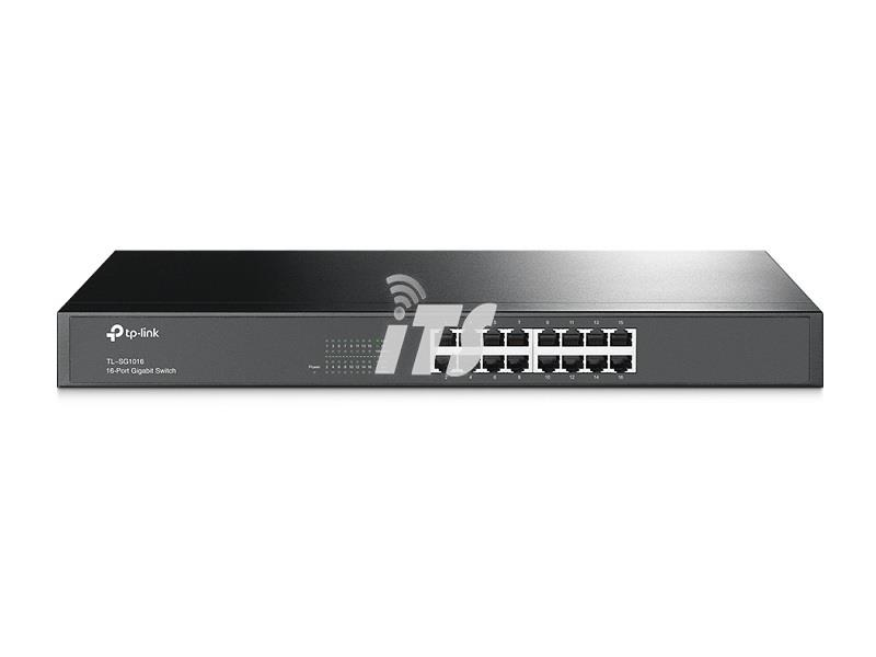 TP-Link 16-Port Gigabit 1U 19-inch Rackmount Switch (TL-SG1016)